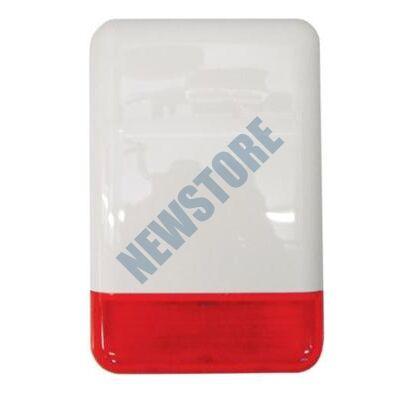 SATEL SPL2030 R Kültéri piezo hang-fényjelző piros