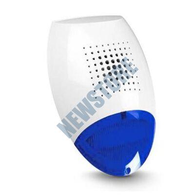SATEL SP500 BL Kültéri piezzo hang-és fényjelző kék