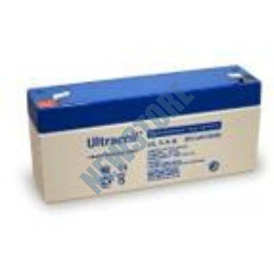 ULTRACELL 6V 3,4 Ah Zselés ólom akkumulátor 109041