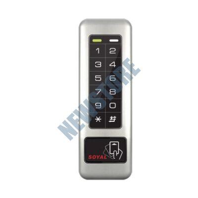 SOYAL AR-331K-TP Kártyaolvasó és kódbillentyűzet hálózati központokhoz AR331KTP