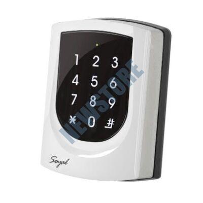 SOYAL AR-725ED Mifare Önálló 2 ajtós vezérlő gyöngyház fehér 109800