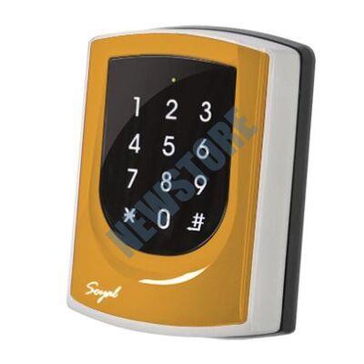 SOYAL AR-725ED-M Mifare Önálló 2 ajtós vezérlő narancs fémkeret 109812