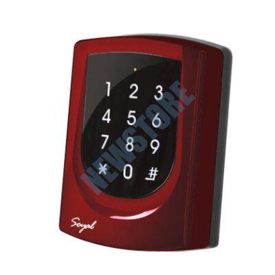 SOYAL AR-725ES piros 2 ajtós vezérlő/hálózati kártyaolvasó AR725ES 109820