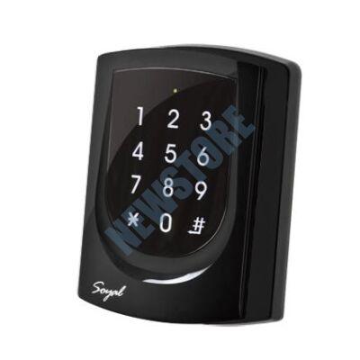 SOYAL AR-725ES fekete 2 ajtós vezérlő/hálózati kártyaolvasó AR725ES 109821