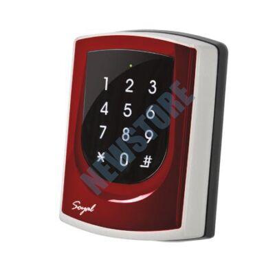 SOYAL AR-725ES-M piros 2 ajtós vezérlő/hálózati kártyaolvasó AR725ESM 109825