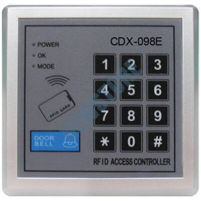 EXCELLTEL MK-098E Önálló beléptető kártyaolvasó és kódzár
