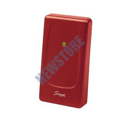 SOYAL AR-721UB piros Kártyaolvasó hálózati központokhoz vagy önálló vezérlőkhöz AR721UB