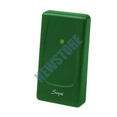 SOYAL AR-721UB zöld Kártyaolvasó hálózati központokhoz vagy önálló vezérlőkhöz AR721UB