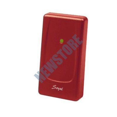 SOYAL AR-721UBW Kártyaolvasó hálózati központokhoz vagy önálló vezérlőkhöz piros 110758