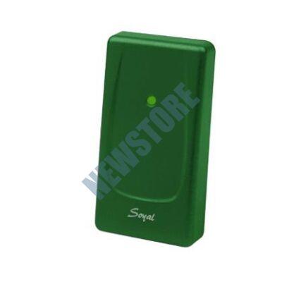 SOYAL AR-721UBW Kártyaolvasó hálózati központokhoz vagy önálló vezérlőkhöz zöld 110759