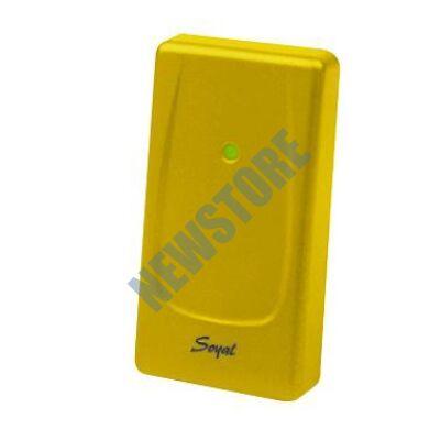 SOYAL AR-721UBW Kártyaolvasó hálózati központokhoz vagy önálló vezérlőkhöz sárga 110762