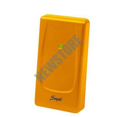 SOYAL AR-721UDW Kártyaolvasó hálózati központokhoz vagy önálló vezérlőkhöz narancs