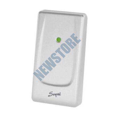 SOYAL AR-721UDW Kártyaolvasó hálózati központokhoz vagy önálló vezérlőkhöz gyöngyház fehér