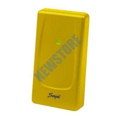 SOYAL AR-721UDW Kártyaolvasó hálózati központokhoz vagy önálló vezérlőkhöz sárga