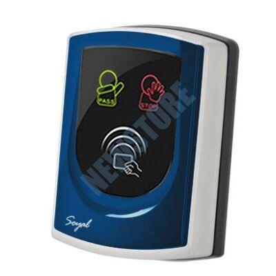 SOYAL AR-725UDM-W Kártyaolvasó hálózati központokhoz vagy önálló vezérlőkhöz kék
