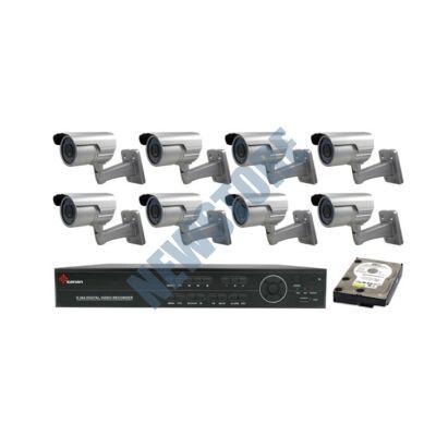 8 kamerás SANAN Megfigyelőrendszer prémium