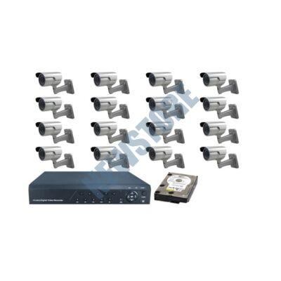 16 kamerás SANAN Megfigyelőrendszer prémium