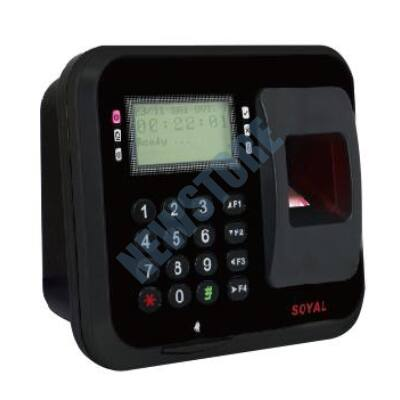 SOYAL AR-837EFiSi-9000DO-BX Optikai ujjlenyomat olvasó fekete 113072