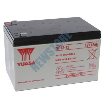 YUASA 12V 12Ah Zselés ólom akkumulátor 113218