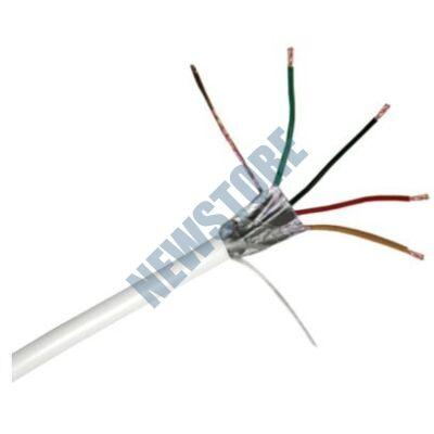 4x0.22 mm2 eres biztonságtechnikai kábel