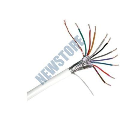 10 x 0.22 CCA 10x0.22 mm2 eres biztonságtechnikai kábel