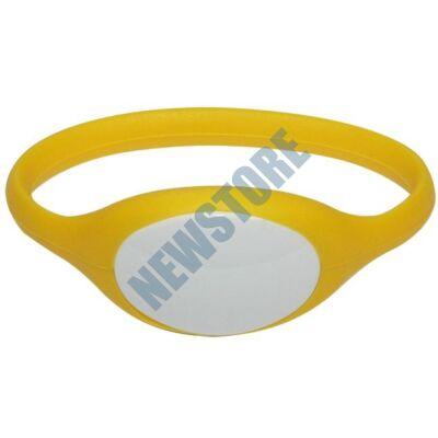 SOYAL AM Wristband No.5 125 kHz sárga Proximity szilikon karkötő