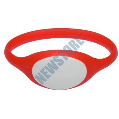 SOYAL AM Wristband No.5 125 kHz piros Proximity szilikon karkötő