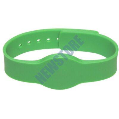 SOYAL AM Wristband No.4 125 kHz zöld Proximity szilikon karkötő