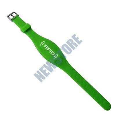 SOYAL AM Wristband No.7 125 kHz zöld Proximity szilikon karkötő