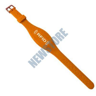 SOYAL AM Wristband No.7 125 kHz narancs Proximity szilikon karkötő