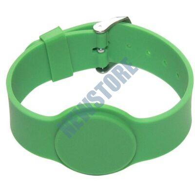 SOYAL AM Wristband No.6 125 kHz zöld Proximity szilikon karkötő