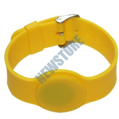 SOYAL AM Wristband No.6 125 kHz sárga Proximity szilikon karkötő
