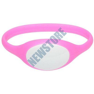 SOYAL AM Wristband No.5 13.56 MHz pink Proximity szilikon karkötő