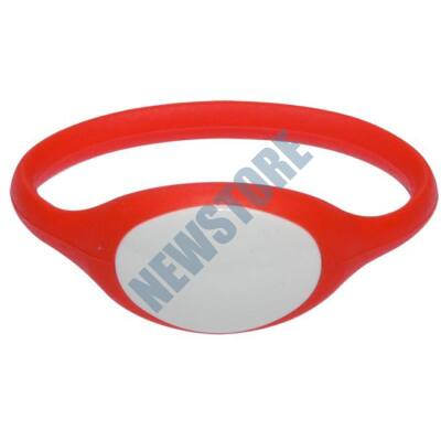 SOYAL AM Wristband No.5 13.56 MHz piros Proximity szilikon karkötő
