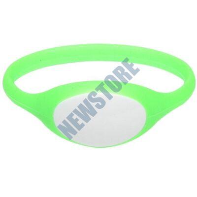 SOYAL AM Wristband No.5 13.56 MHz zöld Proximity szilikon karkötő