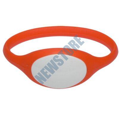 SOYAL AM Wristband No.5 13.56 MHz narancs Proximity szilikon karkötő