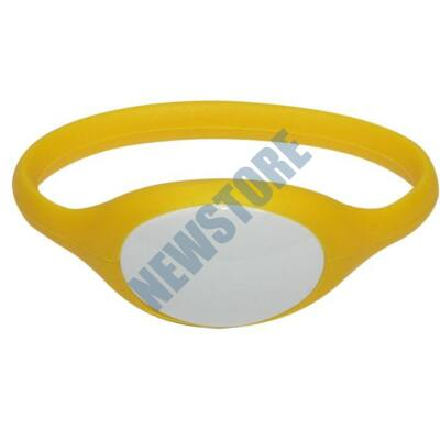 SOYAL AM Wristband No.5 13.56 MHz sárga Proximity szilikon karkötő