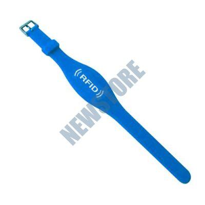 SOYAL AM Wristband No.7 13.56 MHz kék Proximity szilikon karkötő