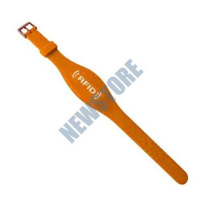SOYAL AM Wristband No.7 13.56 MHz narancs Proximity szilikon karkötő