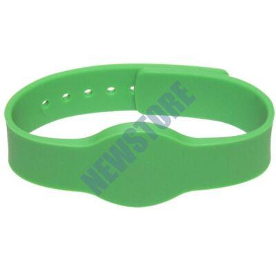 SOYAL AM Wristband No.4 13.56 MHz zöld Proximity szilikon karkötő