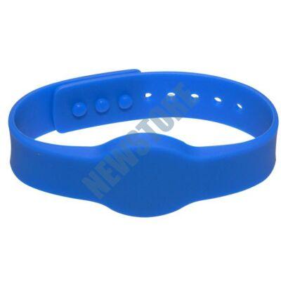 SOYAL AM Wristband No.4 13.56 MHz kék Proximity szilikon karkötő