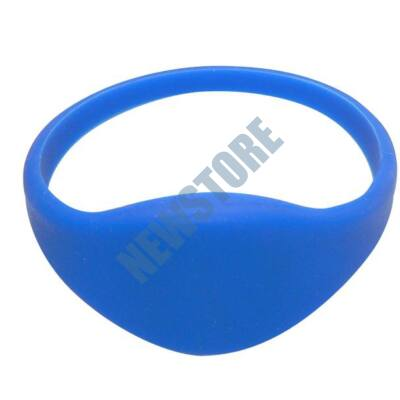 SOYAL AM Wristband No.3 13.56 MHz kék Proximity szilikon karkötő