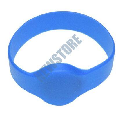 SOYAL AM Wristband No.1 13.56 MHz kék Proximity szilikon karkötő