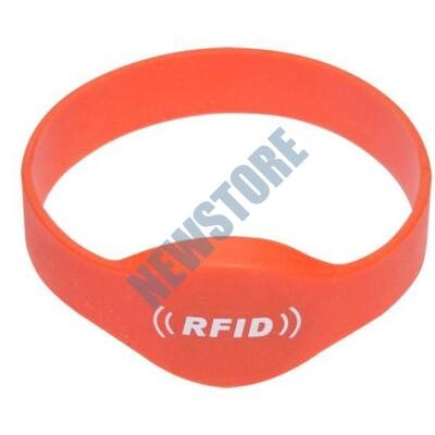 SOYAL AM Wristband No.2 125 kHz narancs Proximity szilikon karkötő