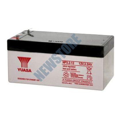YUASA 12V 3,2Ah Zselés ólom akkumulátor 113652