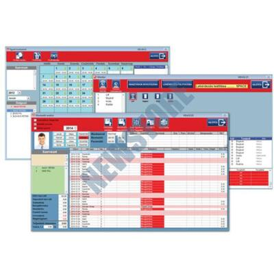 SOYAL AR-1011 Kliens szoftver 1.01 Kliens szoftver SOYAL AR-1001 nyilvántartó szoftverhez