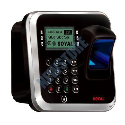 SOYAL AR-837EFiBi-1500-3DO-1R 3D optikai ujjlenyomat olvasó ezüst árnyékolt 114109
