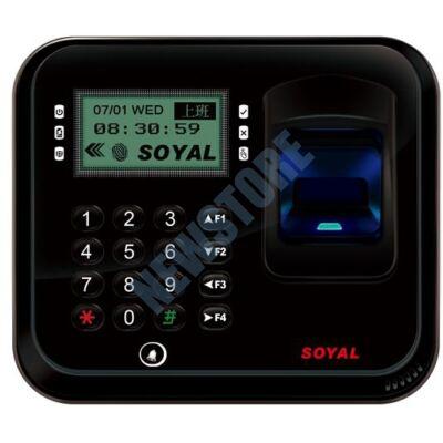 SOYAL AR-837EFiDi-1500-3DO-BX 3D optikai ujjlenyomat olvasó fekete 114114