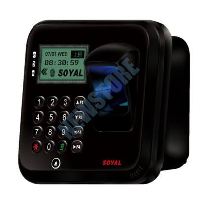 SOYAL AR-837EFiSi-1500-3DO-BR 3D optikai ujjlenyomat olvasó fekete árnyékolt 114116