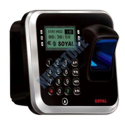SOYAL AR-837EFD-1500-3DO-1R 3D optikai ujjlenyomat olvasó ezüst árnyékolt 114125